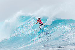 Matt Wilkinson of Australia advanced to Round Four of the Outerknown Fiji Pro after defeating Miguel Pupo of Brazil in Heat 3 of Round Three at Cloudbreak.