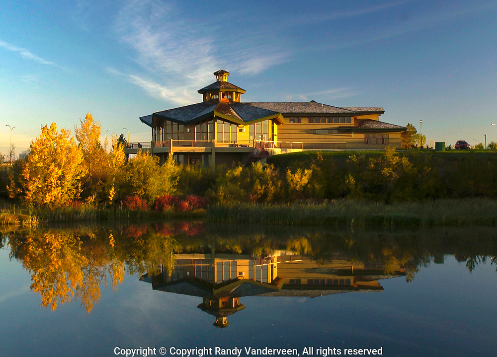 Photo: Randy Vanderveen<br /> Fall colours surround Centre 2000 on the city's northwest side. Photographs of sites around Grande Prairie