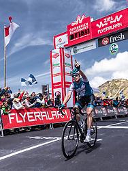 10.07.2019, Fuscher Törl, AUT, Ö-Tour, Österreich Radrundfahrt, 4. Etappe, von Radstadt nach Fuscher Törl (103,5 km), im Bild Etappensieger und Glocknerkönig Ben Hermans (Israel Cycling Academy, BEL) // during 4th stage from Radstadt to Fuscher Törl (103,5 km) of the 2019 Tour of Austria. Fuscher Törl, Austria on 2019/07/10. EXPA Pictures © 2019, PhotoCredit: EXPA/ JFK