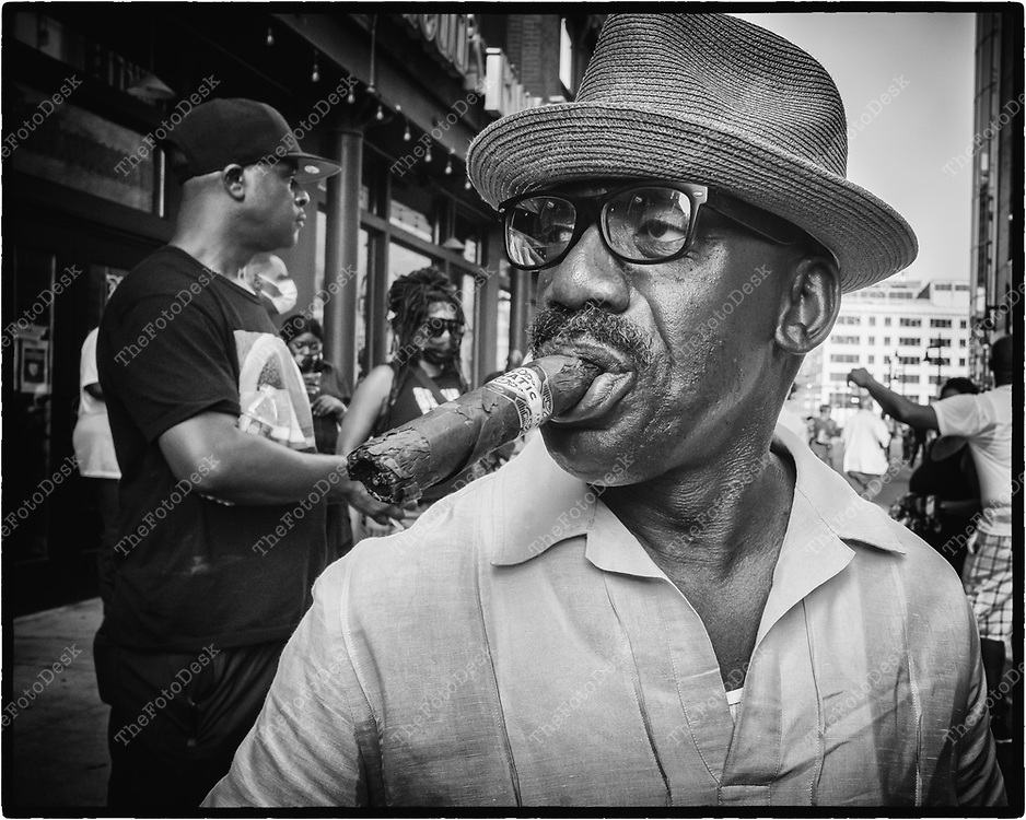 NEWARK, NEW JERSEY: House Heads at the weekly Block Party on Edison Plaice in Newark, NJ on Friday, August 6, 2021 (Brian B Price/TheFotodesk).
