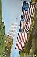 NYC in Colors.  Horn/Andersen<br /> American icons II200x130Kr.   25.000,-<br /> Foto: © Lars Horn / Baghuset<br /> Date : 16.06.13