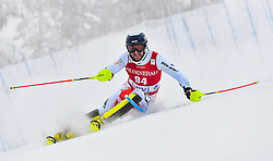 13.11.2016, Black Race Course, Levi, FIN, FIS Weltcup Ski Alpin, Levi, Salalom, Herren, 1. Lauf, im Bild Krystof Kryzl (CZE) // Krystof Kryzl of Czech Republic in action during 1st run of mens Slalom of FIS ski alpine world cup at the Black Race Course in Levi, Finland on 2016/11/13. EXPA Pictures © 2016, PhotoCredit: EXPA/ Nisse Schmidt<br /> <br /> *****ATTENTION - OUT of SWE*****