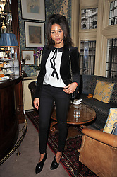 ANA ARAUJO at a screening of Charlotte Olympia's new film 'To Die For' held at Mark's Club, Charles Street, London W1 on 22nd February 2011.
