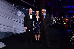 Dave Johns, Hayley Squires and Ken Loach bei den British Independent Film Awards in London / 041216<br /> <br /> <br /> *** at the British Independent Film Awards in London on December 4th, 2016 ***