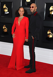 61st Annual Grammy Awards held at Staples Center on February 10, 2019 in Los Angeles, CA. 10 Feb 2019 Pictured: Alicia Keys and Swizz Beatz. Photo credit: MEGA TheMegaAgency.com +1 888 505 6342