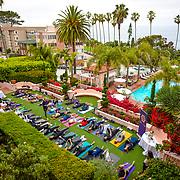 La Valencia Hotel Yoga Taco Tuesday 2017