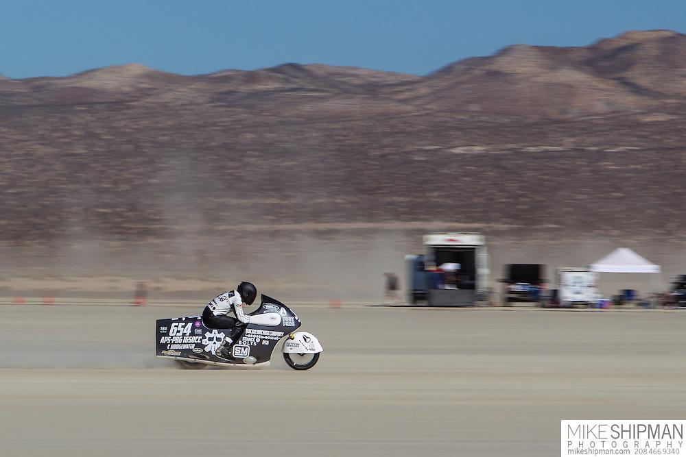 Bridgewater Racing, 654B, eng 1650CC, body APS-PBG, driver Chris Bridgewater, 155.198 mph, record 180.000