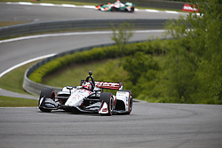 April 23, 2018 - Birmingham, Alabama, United States of America - GRAHAM RAHAL (15) of the United States battles for position through the turns during the Honda Grand Prix of Alabama at Barber Motorsports Park in Birmingham, Alabama. (Credit Image: © Justin R. Noe Asp Inc/ASP via ZUMA Wire)