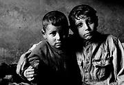 Leon (5) and Vladimir (7); brothers.