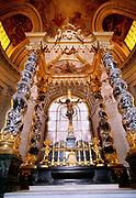 Napoleon Bonaparte's Tomb in the Saint Jerome Chapel in Les Invalides, Paris, France