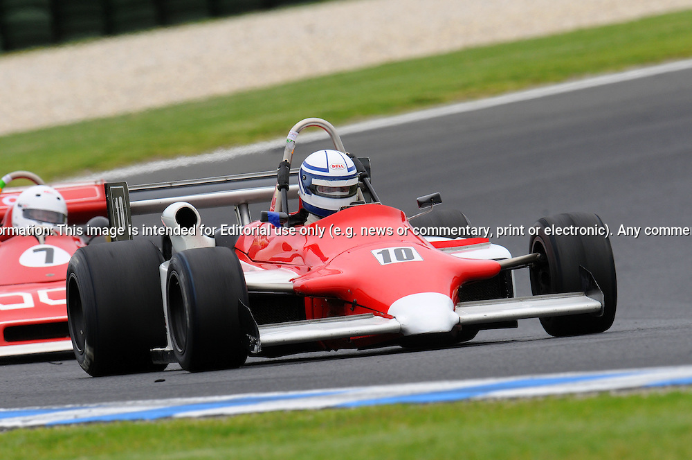 Andrew McCarthy - Ralt RT4 - Formula Atlantic .Historic Motorsport Racing - Phillip Island Classic.18th March 2011.Phillip Island Racetrack, Phillip Island, Victoria.(C) Joel Strickland Photographics.Use information: This image is intended for Editorial use only (e.g. news or commentary, print or electronic). Any commercial or promotional use requires additional clearance.