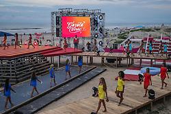 Primeiro ensaio geral do Garota Verão 2015, na tarde desta quinta-feira, em Capão da Canoa. FOTO: Jefferson Bernardes/ Agência Preview