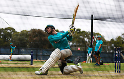 Australia's Steve Smith during a nets session at the Adelaide Oval, Adelaide.