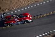 June 26-30 - Pikes Peak Colorado.  Greg Tracy works through sector 2 on the mountain during practice for the 91st running of the Pikes Peak Hill Climb.