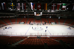Arena Metro Centre at practice of Slovenian national team before Hockey IIHF WC 2008 in Halifax,  on May 01, 2008 in Metro Center, Halifax, Canada.  (Photo by Vid Ponikvar / Sportal Images)