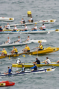 St Peter's Port, Guernsey, CHANNEL ISLANDS,  2006 British and International Coastal Rowing  Rowing Challenge, Men's Classes, 02/09/2006.  Photo  Peter Spurrier, © Intersport Images,