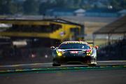 June 13-18, 2017. 24 hours of Le Mans. 61 Clearwater Racing, Ferrari 488 GTE, Weng Sun Mok, Matt Griffin, Keita Sawa
