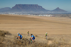 Famke Boonzaaier and Danie Goosen during the Prologue of the 2017 Absa Cape Epic Mountain Bike stage race held at Meerendal Wine Estate in Durbanville, South Africa on the 19th March 2017<br /> <br /> Photo by Greg Beadle/Cape Epic/SPORTZPICS<br /> <br /> PLEASE ENSURE THE APPROPRIATE CREDIT IS GIVEN TO THE PHOTOGRAPHER AND SPORTZPICS ALONG WITH THE ABSA CAPE EPIC<br /> <br /> {ace2016}