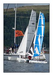 Largs Regatta Week - August 2012..Catamaran Startline, Hurricane 5.9 154 - Dylan Brown and Brian Young