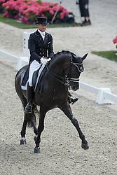 Gal Edward, (NED), Glock's Voice<br /> Kingsley Donadeo Grand Prix<br /> Dutch Championship Dressage - Ermelo 2015<br /> © Hippo Foto - Dirk Caremans<br /> 17/07/15