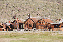 Gold Mining Ghost Town, Bodie, Eastern Sierra, California, USA.  Photo copyright Lee Foster.  Photo # california121026