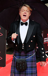 """Edinburgh International Film Festival, Sunday 26th June 2016<br /> <br /> Stars turn up on the closing night gala red carpet for the World Premiere of """"Whisky Galore!""""  at the Edinburgh International Film Festival 2016<br /> <br /> Eddie Izzard who plays Captain Wagget in the film.<br /> <br /> (c) Alex Todd 