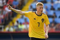 June 23, 2018 - Moscow, Russia - Kevin de Bruyne of Belgium during the 2018 FIFA World Cup Group G match between Belgium and Tunisia at Spartak Stadium in Moscow, Russia on June 23, 2018  (Credit Image: © Andrew Surma/NurPhoto via ZUMA Press)