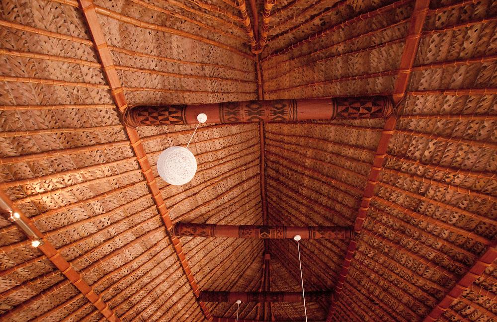 Interior Ceiling of Gift Shop, Turtle Island, Yasawa Islands, Fiji