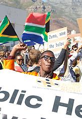 Zuma Must Fall Demonstration - 16 Dec 2015