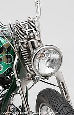 """Arlen Ness """"Green Flame Shovelhead"""""""