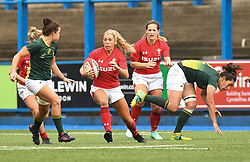 Wales Alecs Donovan<br /> Wales Women v South Africa Women<br /> Autumn International<br /> <br /> Photographer Mike Jones / Replay Images<br /> Cardiff Arms Park<br /> 10th November 2018<br /> <br /> World Copyright © 2018 Replay Images. All rights reserved. info@replayimages.co.uk - http://replayimages.co.uk