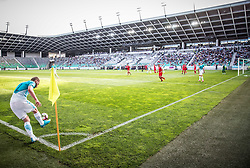 Nejc Skubic of Slovenia during football match between National teams of Slovenia and Malta in Round #6 of FIFA World Cup Russia 2018 qualifications in Group F, on June 10, 2017 in SRC Stozice, Ljubljana, Slovenia. Photo by Vid Ponikvar / Sportida