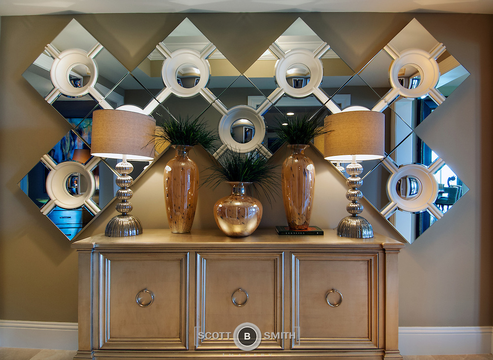 Alexander residence at the Ritz-Carlton Residences at Singer Island, Florida, photographed for the owner and Schrapper's Custom Fine Cabinetry, Jupiter, Florida.