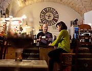 PUGLIA , ITALY, Alberobello, wine bar Paco Wines