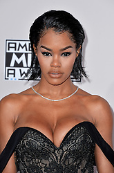 Teyana Taylor attends the 2016 American Music Awards at Microsoft Theater on November 20, 2016 in Los Angeles, CA, USA. Photo by Lionel Hahn/ABACAPRESS.COM