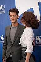 Pierre Niney and Paula Beer at the Frantz film photocall at the 73rd Venice Film Festival, Sala Grande on Saturday September 3rd 2016, Venice Lido, Italy.