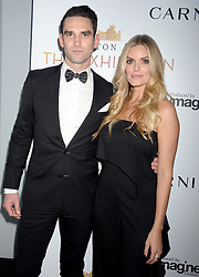 Carl Radke and Lauren Wirkus attending 'Downton Abbey: The Exhibition' Gala Reception on November 17, 2017 in New York City, NY, USA. Photo by Dennis Van Tine/ABACAPRESS.COM