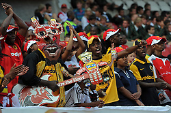JOHANNESBURG, South Africa, 02 April 2011. Lions for Life fans during the Super15 Rugby match between the Lions and the Reds at Coca-Cola Park in Johannesburg, South Africa on 02 April 2011. .Photographer : Anton de Villiers / SPORTZPICS