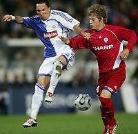 GC's Roberto Pinto gegen Johan Niklasson. © Urs Bucher/EQ Images