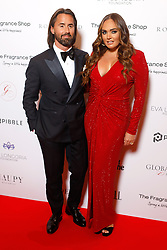 Jay Rutland and Tamara Ecclestone attending the 9th Annual Global Gift Gala held at the Rosewood Hotel, London. PRESS ASSOCIATION PHOTO. Picture date: Friday November 2, 2018. Photo credit should read: David Parry/PA Wire