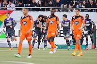 Joie Martin BRAITHWAITE - Deception Lorient - 18.04.2015 - Lorient / Toulouse - 33eme journee de Ligue 1<br />Photo : Vincent Michel / Icon Sport