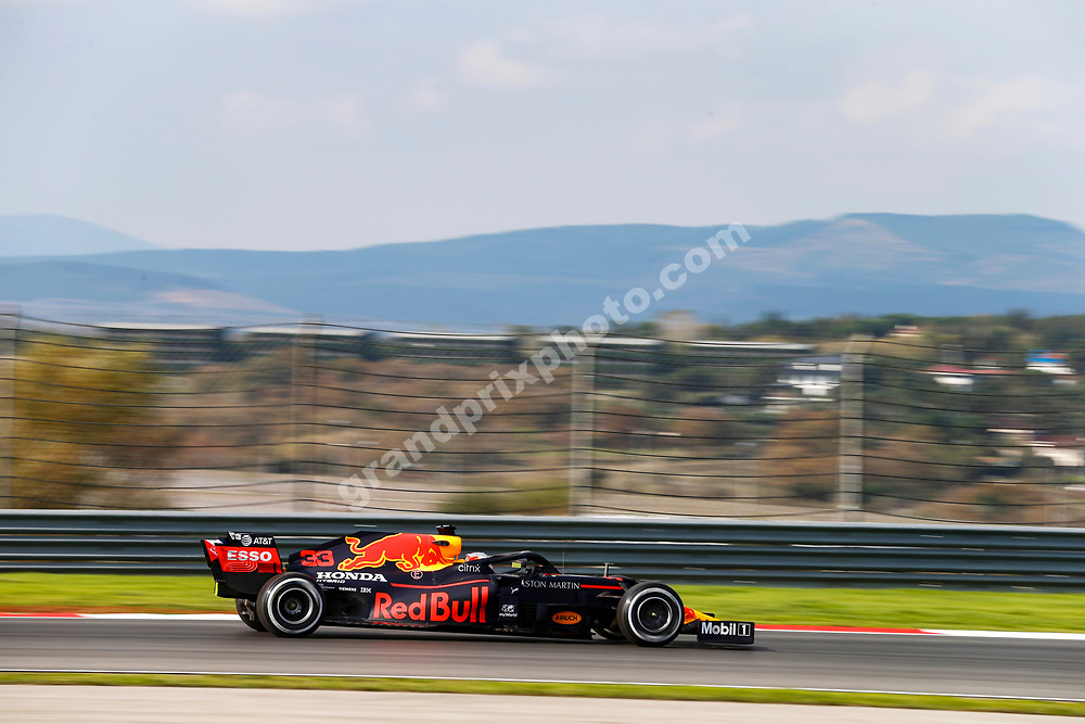 Max Verstappen (Red Bull-Honda) during practice for the 2020 Turkish Grand Prix at Istanbul Park. Photo: © Copyright: FIA Pool Image via Grand Prix Photo - for Editorial Use Only