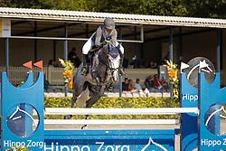 202 - Erasmus van Lange Weeren - Horyon Mirjan<br /> 5 Jarige Finale Springen<br /> KWPN Paardendagen - Ermelo 2014<br /> © Dirk Caremans