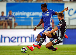 20.07.2016, Wörthersee Stadion, Klagenfurt, AUT, Testspiel, RZ Pellets WAC gegen FC Chelsea im Bild Michy Batshuay (FC Chelsea) und Michael Sollbauer (RZ Pellets WAC) // during a football test match between RZ Pellets WAC and FC Chelsea at the Wörthersee Stadium, Klagenfurt, Austria on 2016/07/20, EXPA Pictures © 2016, PhotoCredit: EXPA/ Wolfgang Jannach