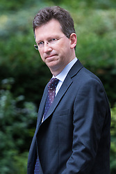 Downing Street, London, September 9th 2016.  Attorney General Jeremy Wright arrives at Downing street for the weekly cabinet meeting following the Parliamentary summer recess.