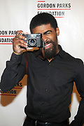 NEW YORK, NEW YORK-JUNE 4: Photographer Devon Allen attends the 2019 Gordon Parks Foundation Awards Dinner and Auction Red Carpet celebrating the Arts & Social Justice held at Cipriani 42nd Street on June 4, 2019 in New York City.  (photo by terrence jennings/terrencejennings.com)