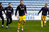 Wimbledon forward Tommy Wood (22) warming up  during the EFL Sky Bet League 1 match between Coventry City and AFC Wimbledon at the Ricoh Arena, Coventry, England on 12 January 2019.