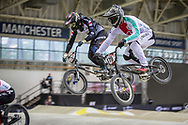 #179 (MARQUART Simon M.) SUI during practice at the 2019 UCI BMX Supercross World Cup in Manchester, Great Britain