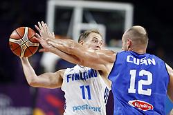 September 9, 2017 - Finland vs. İtalya Eurobasket 2017 game at Ulker Sports Areba, September 9th, 2017. (Credit Image: © Depo Photos via ZUMA Wire)