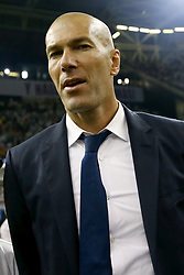 June 3, 2017 - Cardiff, Walles, United Kingdom - Real Madrid trainer Zinedine Zidane during the UEFA Champions League Final between Juventus and Real Madrid at National Stadium of Wales on June 3, 2017 in Cardiff, Wales. (Credit Image: © Matteo Ciambelli/NurPhoto via ZUMA Press)